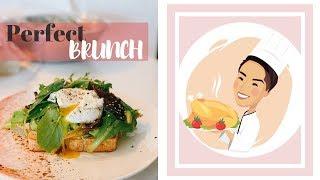 Gambar cover Кунжутный тост с яйцом Пашот   Идеальный Бранч