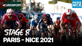 Paris - Nice 2021 - Stage 8 Highlights | Cycling | Eurosport