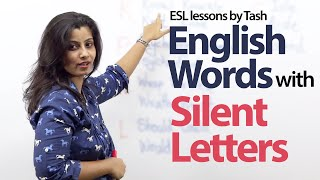 English words with silent letters - Free English lesson