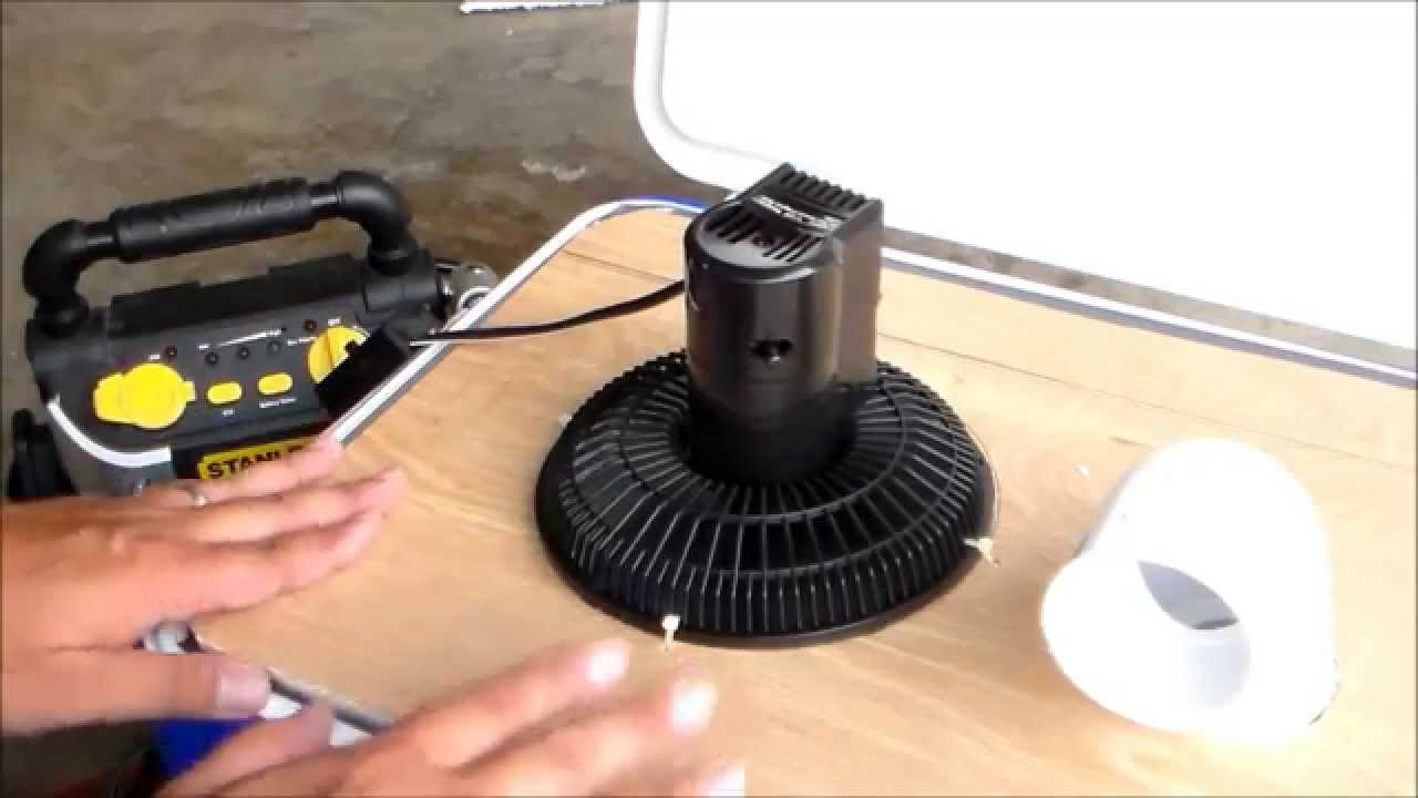 & PORTABLE CAMPING AIR CONDITIONER - YouTube