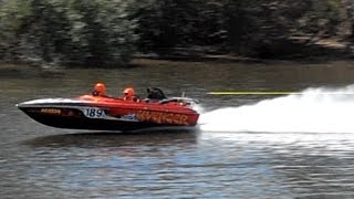 AVENGER - 2nd 8 Litre - 2013 Feros Hotels Sydney Bridge To Bridge Water Ski Race