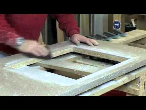 Bling Your Kitchen   Wilsonart Earthstone Inset Sink U0026 Drainer Groove  Installation Guide