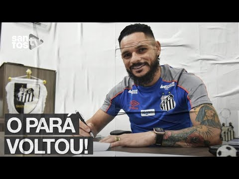 PARÁ ESTÁ DE VOLTA AO SANTOS!