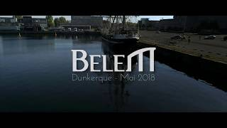 Le Belem Dunkerque Mai 2018 ©WeDroneU 2017  Drone Dunkerque  HD 1080p