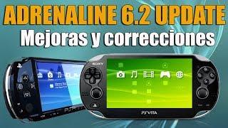 Adrenaline 6-2 Actualizado - Mejoras de Gráficos y corrección de errores