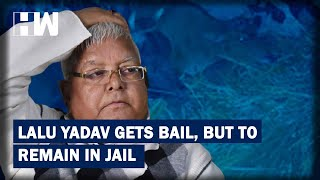 Headlines: Jailed In Fodder Scam, RJD Patron Lalu Prasad Yadav Gets Bail But No Relief From Jail