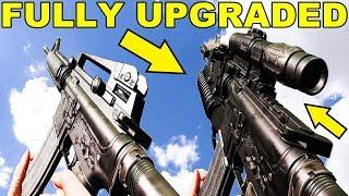 Insurgency Sandstorm -  Weapons Model Comparison - Stock vs Fully Upgraded