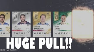 NHL 19 We Pulled WHO? HUGE HUT PACK OPENING!