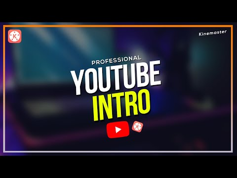 How to make YouTube intro in Kinemaster | MarvillTV Tutorial