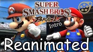 Super Smash Bros Brawl intro Reanimated