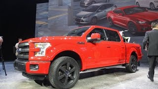 Ford F-150 Assembly Going `Extremely Well,' Shanks Says