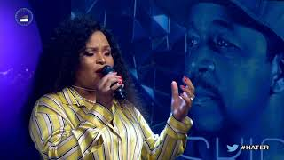 #liveamp performance medley of #hatersoneside & #ngci by @oskidoibelieve featuring @bucie_nkomo