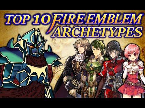 Top 10 Fire Emblem Archetypes (1000 Twitter Followers Special)