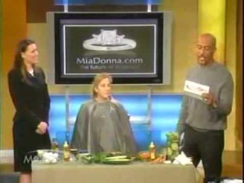 MiaDonna & Co. featured on The Montel Williams Show.