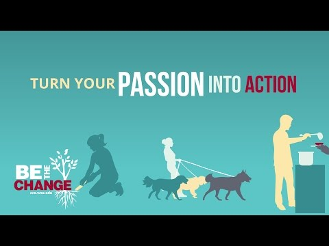 Turn Your Passion into Action