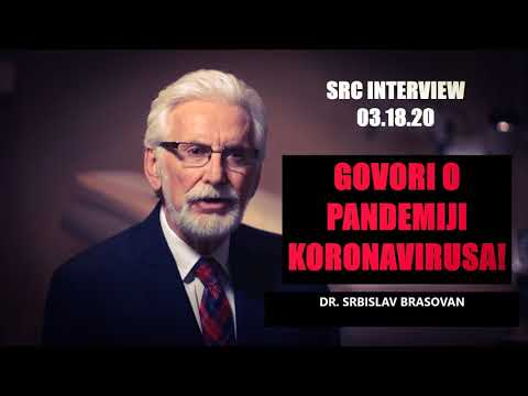 Serbian Radio Chicago – Dr SRBISLAV BRASOVAN (KORONAVIRUS) 3.18.20