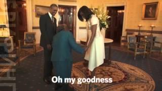 Этой американской бабушке 106 лет. И она заставила президента танцевать! Полторы минуты позитива!(Этой американской бабушке 106 лет. И она заставила президента танцевать! Полторы минуты позитива! ВИДЕО:..., 2016-02-22T13:56:52.000Z)