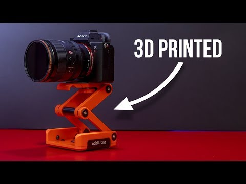3D Print Your Camera Mount —Edelkrone Ortak