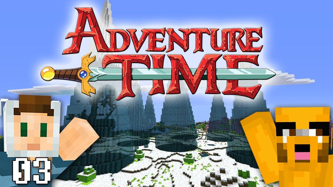 adventure time minecraft ice kingdom w swimmingbird941