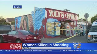 Woman Killed, Second Wounded In East LA Shooting