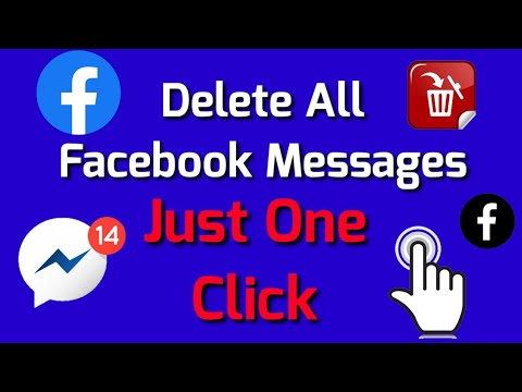 How To Delete All Facebook Messages On Android/IPhone 2020|| [Exclusive Solution]