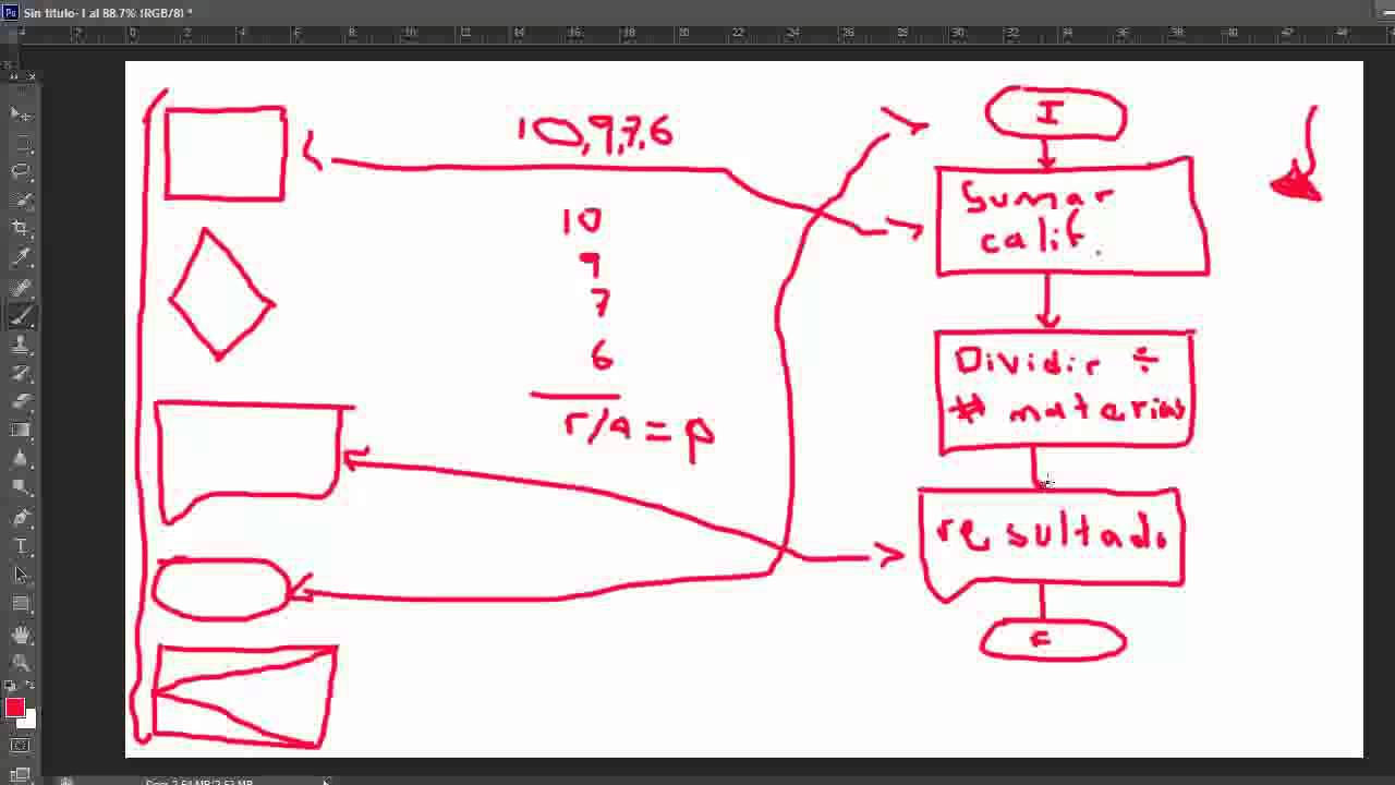 Ejemplo de diagramas de flujo y pseudocdigo 2 youtube ccuart Images