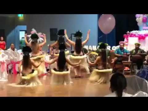Cook Islands dance group - Inangaro Paradise