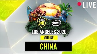 LIVE: Ehome vs. ViCi Gaming - ESL One Los Angeles - Group China