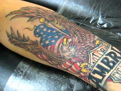 Harley Davidson Tattoo - YouTube - photo#39