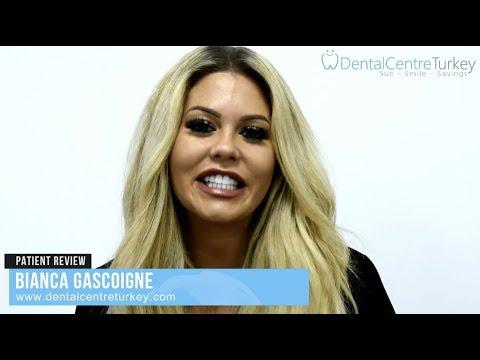 Bianca Gascoigne visited Dental Centre Turkey