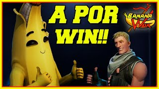 | A FOR WINS WITH NEW SKIN THANK YOU ELIAS! Fortnite battle royale CODE CREATOR: Bananawuk