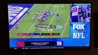 NFL on FOX Today Game Break Update: Cardinals @ Giants on FOX