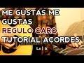 Me Gustas Me Gustas - Regulo Caro - Tutorial - ACORDES - Como tocar en Guitarra