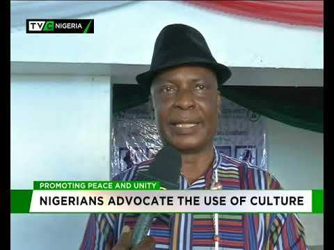 Nigerians advocate the use of Culture