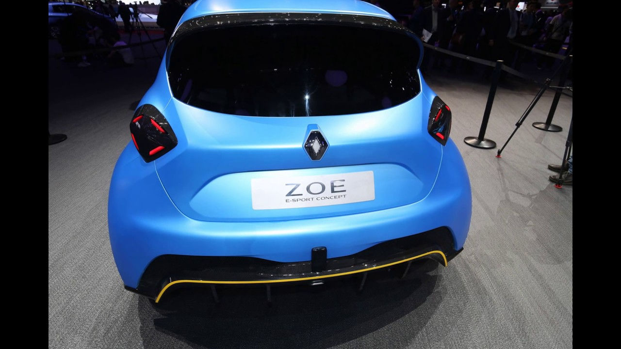 the new 2019 renault zoe rs concept youtube. Black Bedroom Furniture Sets. Home Design Ideas