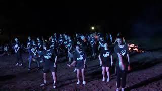 玉里國中露營活動九年八班