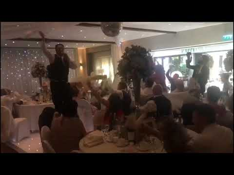 Elite Singing Waiters at Wickwoods Country Club