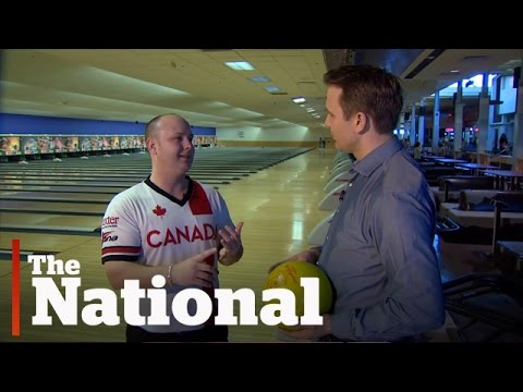 Bowling with Team Canada's Dan Maclelland