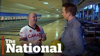 Bowling with Team Canada's Dan Maclelland