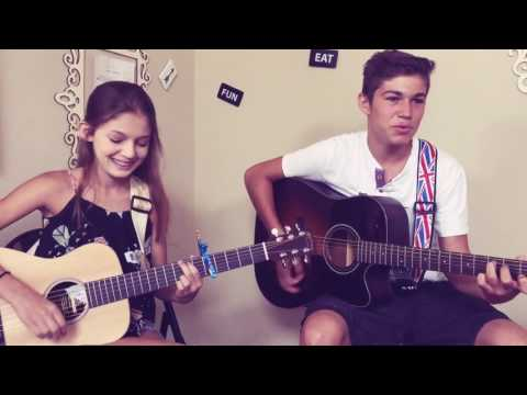 You ain&39;t here to kiss me - Brett Young Cover by JunaNJoey
