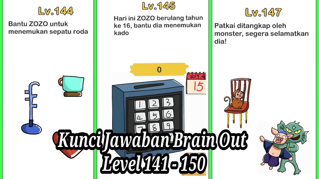 Kunci Jawaban Brain Out Level 144 Sepatu Roda Guru Ilmu Sosial