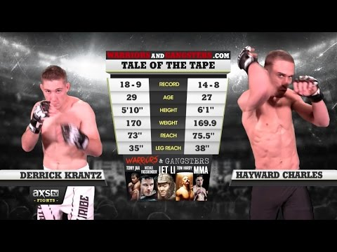 Fight of the Week: Derrick Krantz & Hayward Charles Deliver the Brutality at LFA 4