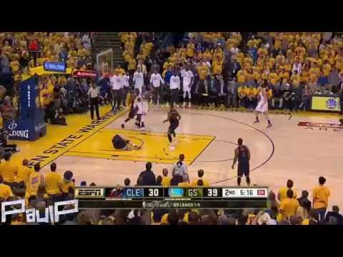 Kevin Love in concussion protocol after taking elbow to head (HD)