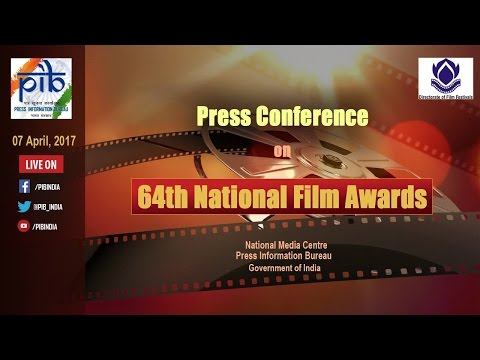 Press Conference on 64th National Film Awards
