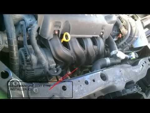 How To Replace Starter Motor Toyota Corolla Doovi