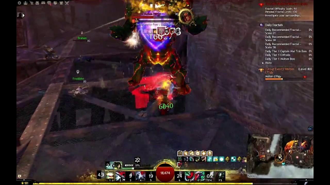 Molten Boss Solo No Skips (90) - Power Revenant