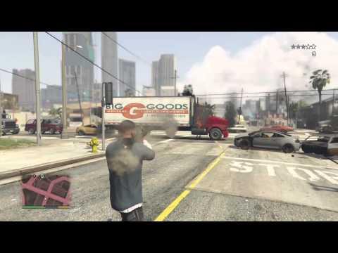 Grand Theft Auto V - Reacción en cadena (PRUEBA XBOX ONE)
