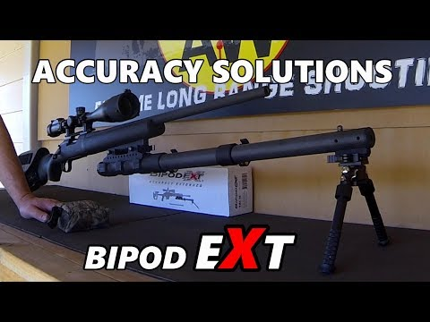 Bipod EXT Accuracy EXtended...our First Look