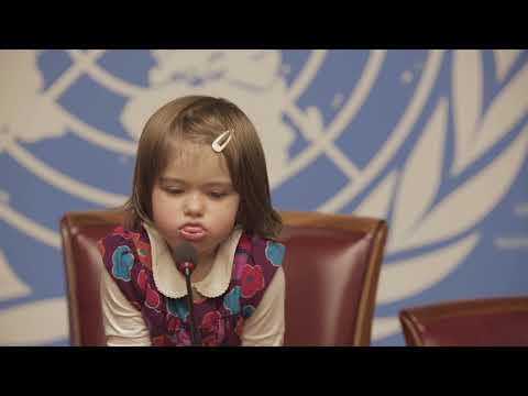 "Kids ""take over""  au Palais des nations ! I UNICEF"