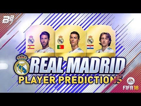 FIFA 18 REAL MADRID PLAYER RATING PREDICTIONS w/ RONALDO AND MODRIC! | FIFA 18 ULTIMATE TEAM